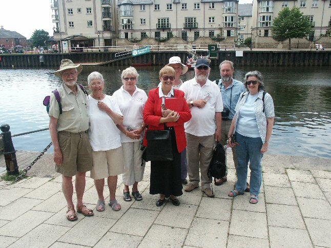 Exeter Tour Guide and BCHS Committee