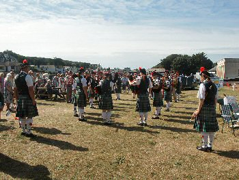 thoughts of summer - Bideford Youth Pipe Band